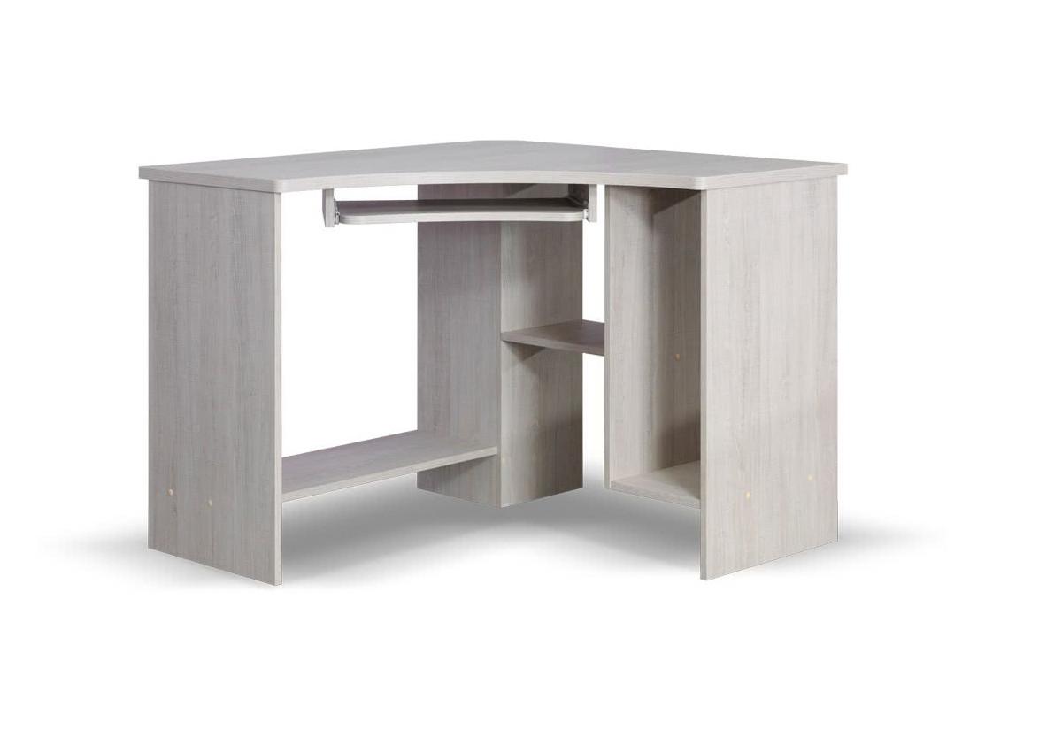 Psací stůl TENUS rohový, Dub santana