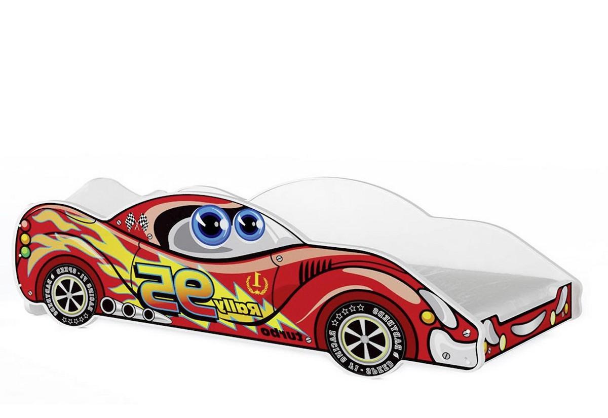 Dětská postel AUTO Cars 90x180, VZOR 01