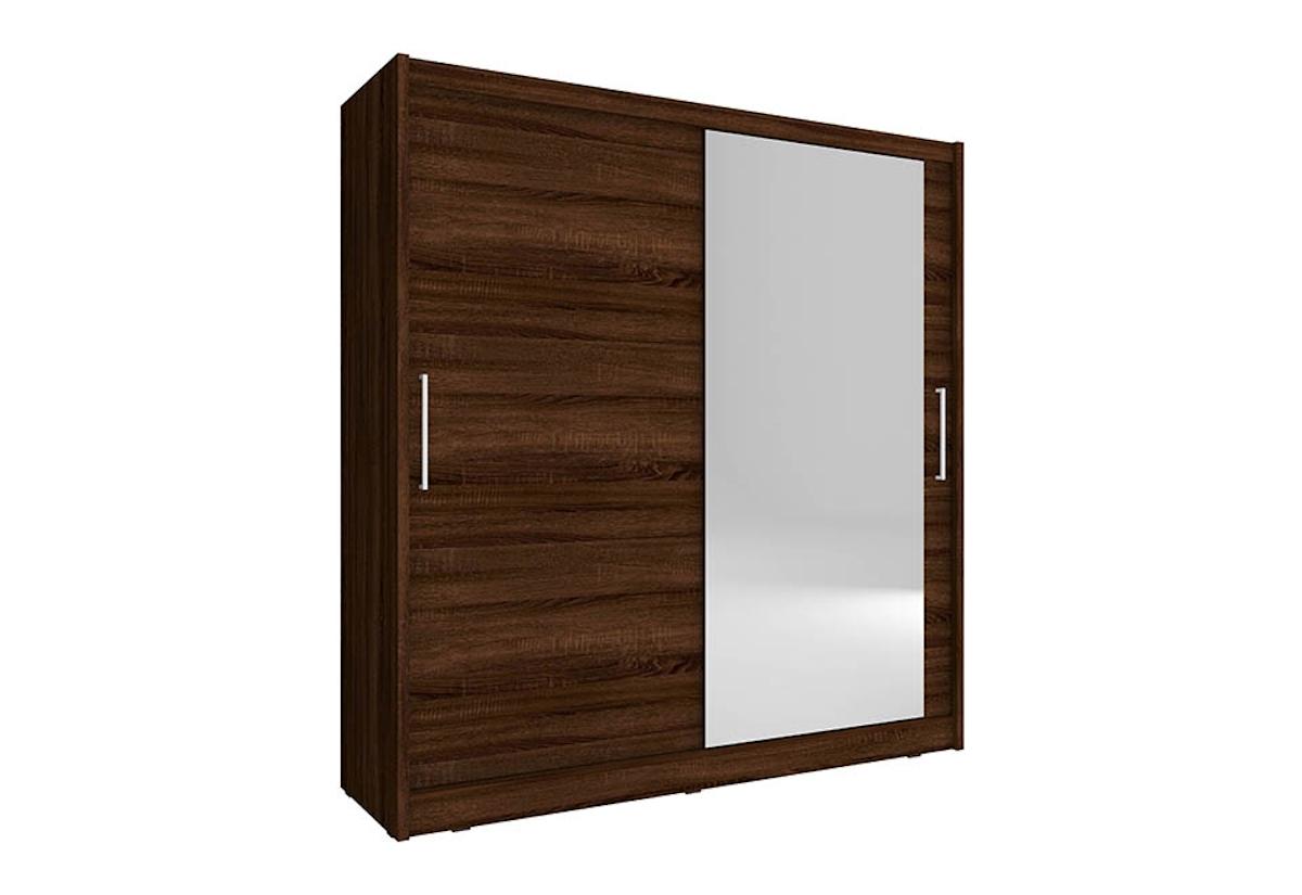 Šatní skříň MAJA 1, 180/200/62, sonoma čokoládová