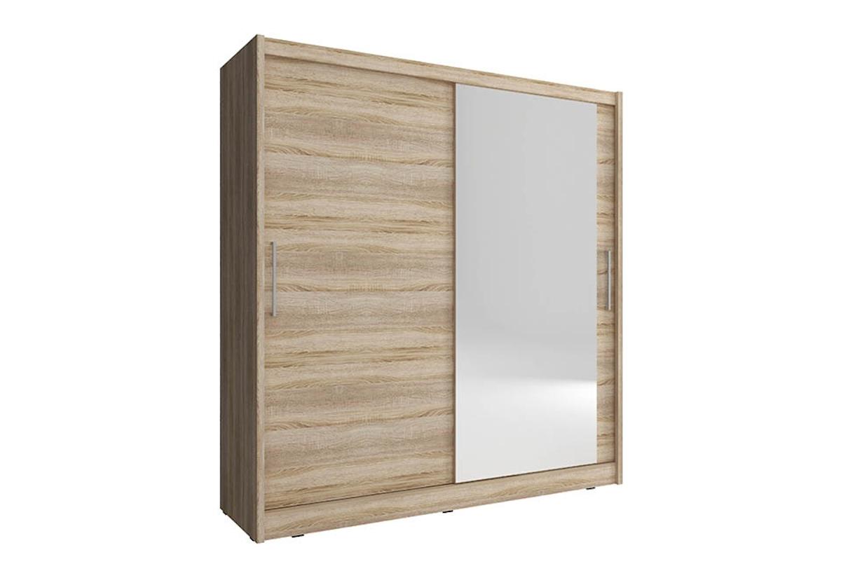 Šatní skříň MAJA 1, 200/214/62, dub sonoma