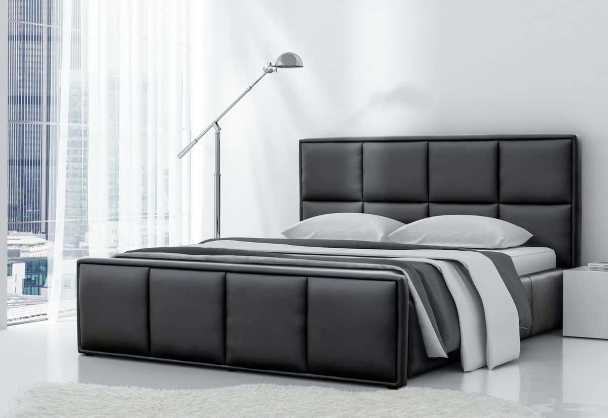 Čalouněná postel MILONGA s matrací, 200x200