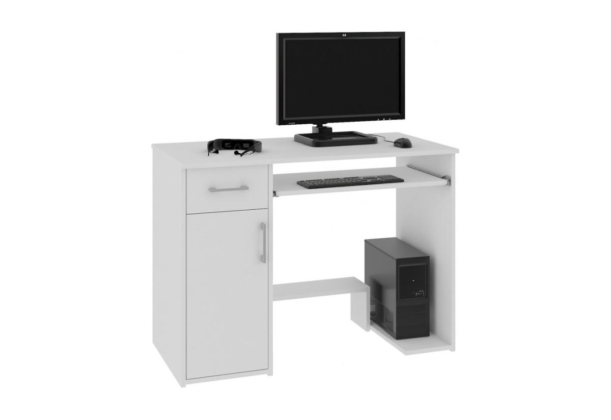 Psací stůl JAY, 90x74x50, bílá