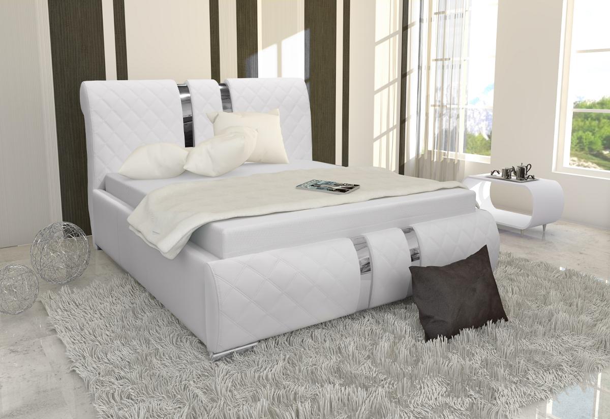 Čalouněná postel NIKO, 140x200, madryt 128