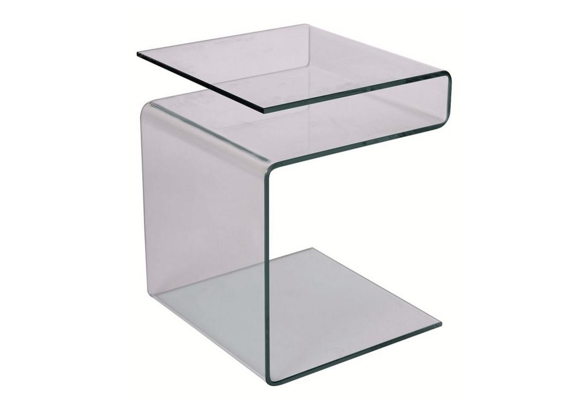 Konferenční stolek EPI, 48x38x42, sklo
