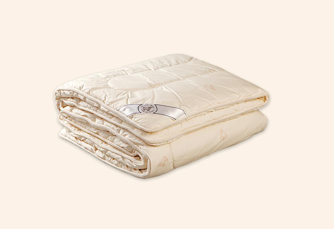 Antialergická deka z ovčí vlny FLAMINGO, 140x200, ecru