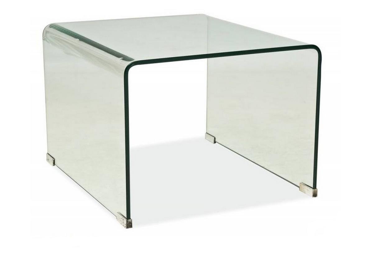 Konferenční stolek PRIAM B, 58x38x49, sklo