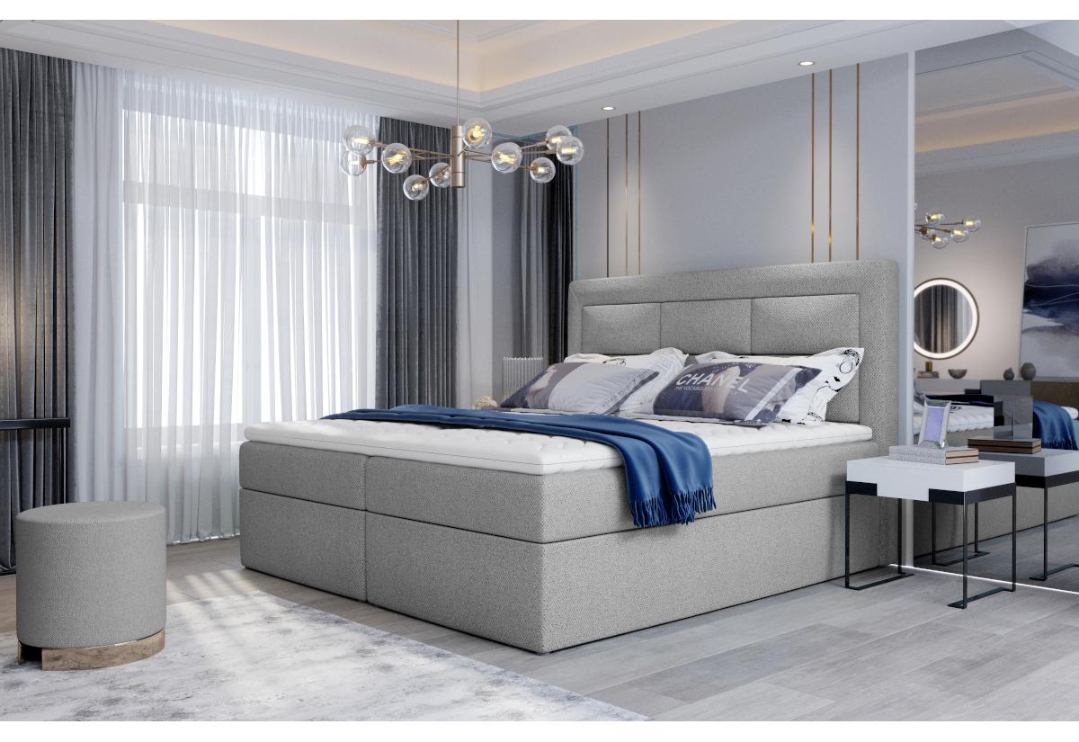 Čalouněná postel boxspring VIVRE, 140x200, grande 81