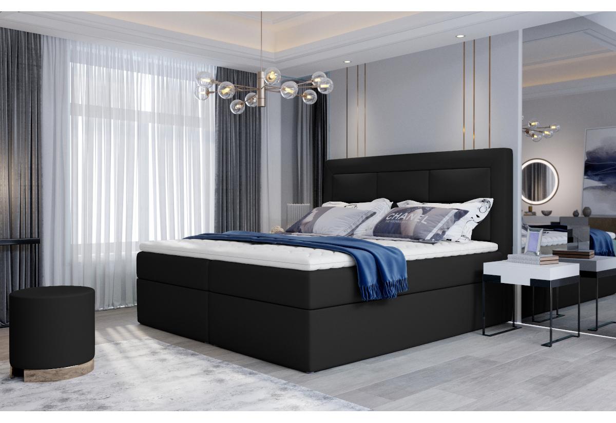 Čalouněná postel boxspring VIVRE, 140x200, soft 11