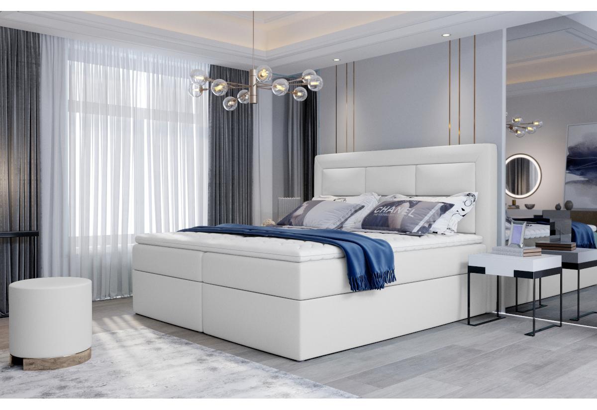 Čalouněná postel boxspring VIVRE, 180x200, soft 17