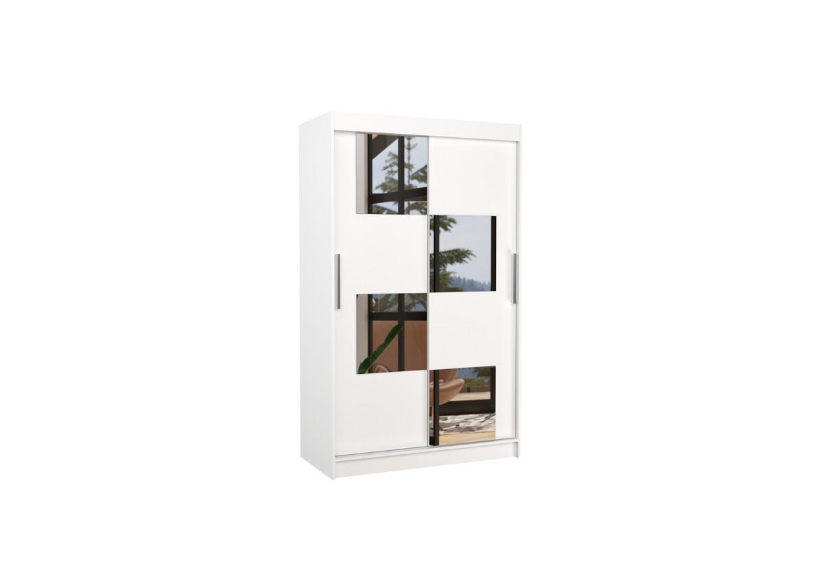 Posuvná skříň se zrcadlem LUGANO