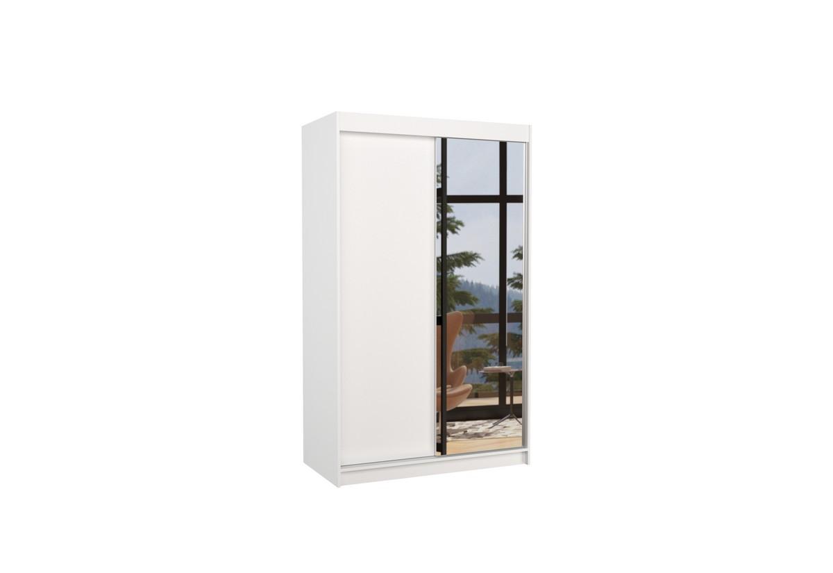 Posuvná skříň se zrcadlem REWENA
